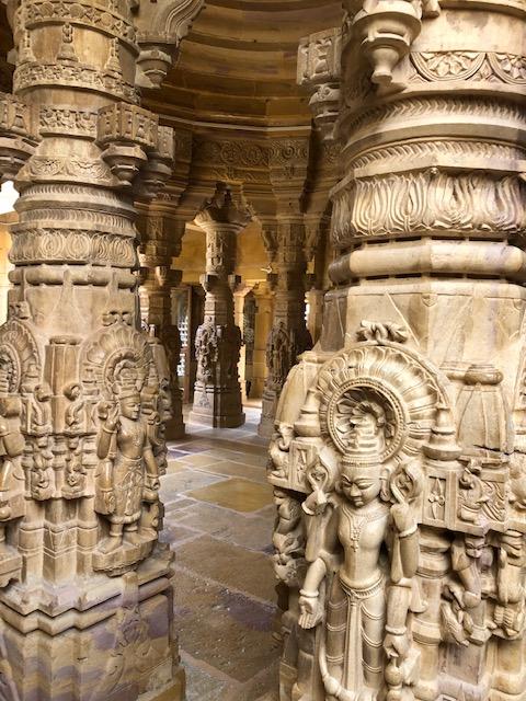Stunning Architecture at the Jain Temple in Jaisalmer