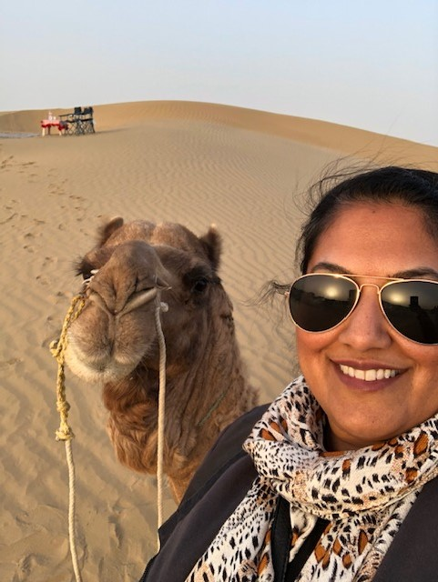 Who Photobombed Who in the Desert?