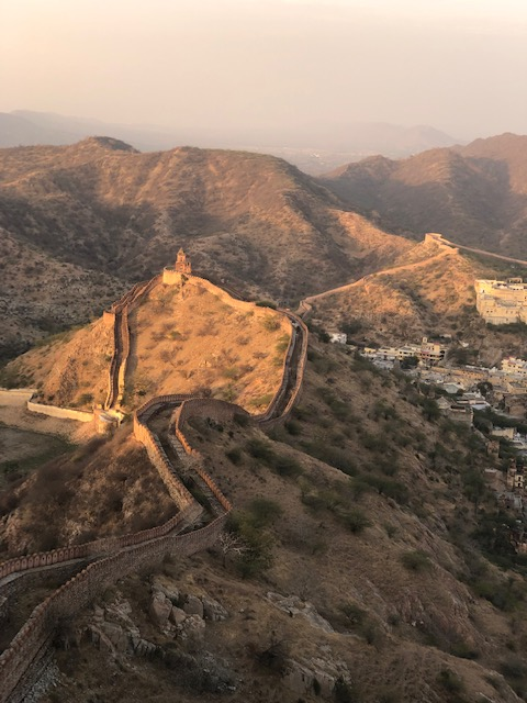 Sunset at Jaigarh Fort