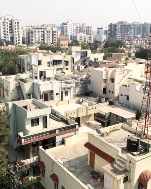 Overlooking Ahmedabad