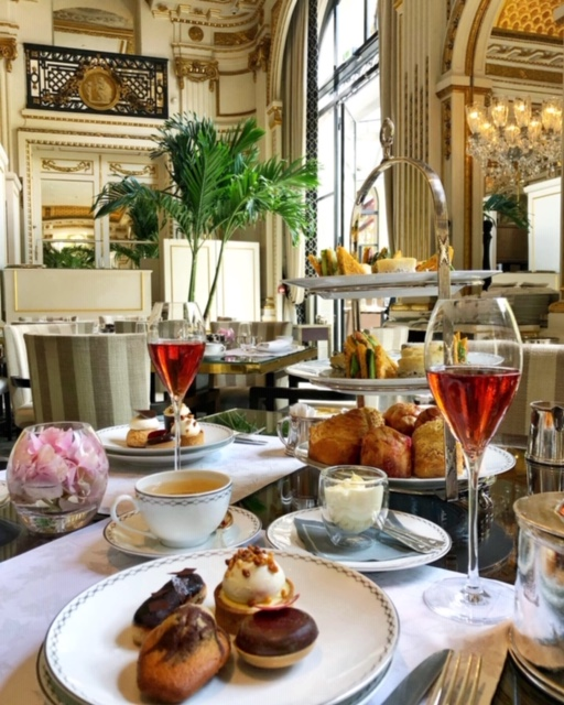 Afternoon Tea at Le Lobby at The Peninsula Paris