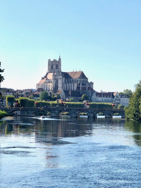 Beautiful Auxerre As We Set Sail