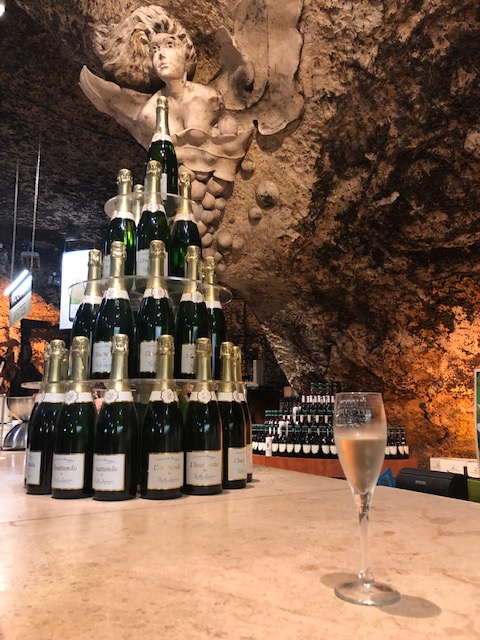 Sparkling Wine Tasting In A Cave