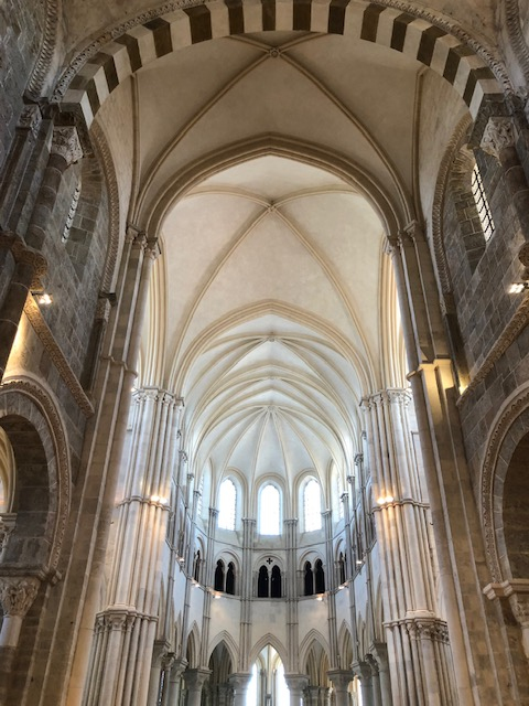 Romanesque Basilica of St Magdalene Vezelay