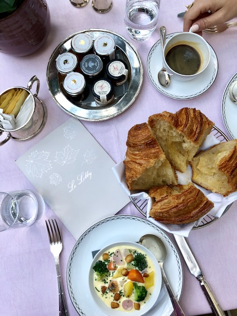 Famous Sunday Brunch at Le Lobby at The Peninsula Paris