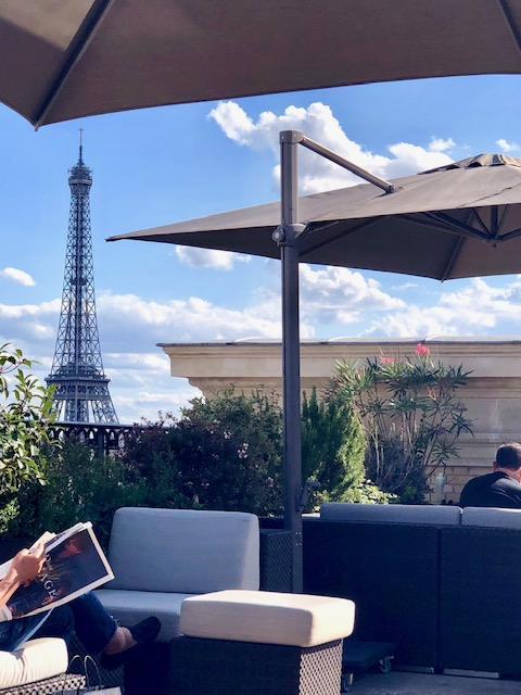Le Rooftop at The Peninsula Paris