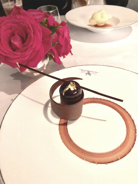 Dinner at L'Oiseau Blanc at The Peninsula Paris