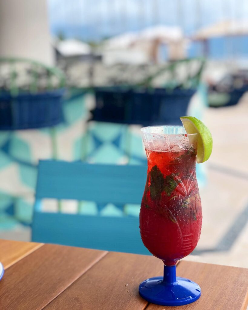 Strawberry Mojito Poolside