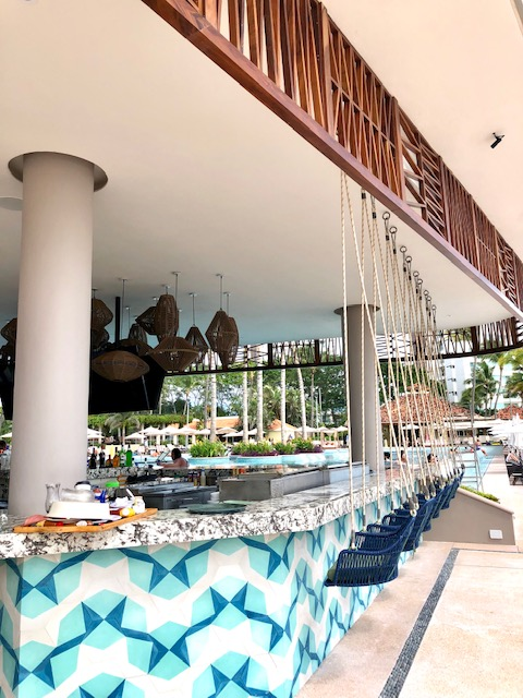 Beautiful New Outdoor Pool Bar and Restaurant