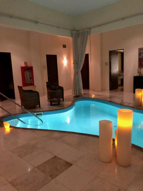 Lucky To Give You An Insider's Peek At The Spa