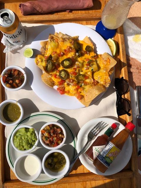Nachos Delivered To The Cabana!