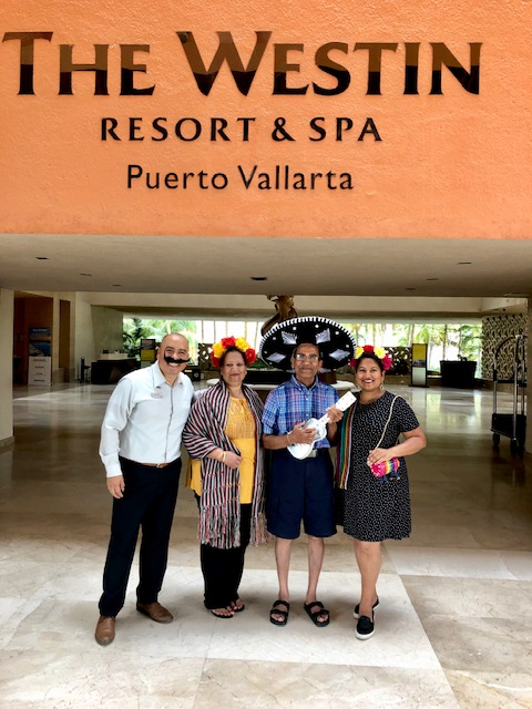 Our Special Welcome To The Westin Puerto Vallarta