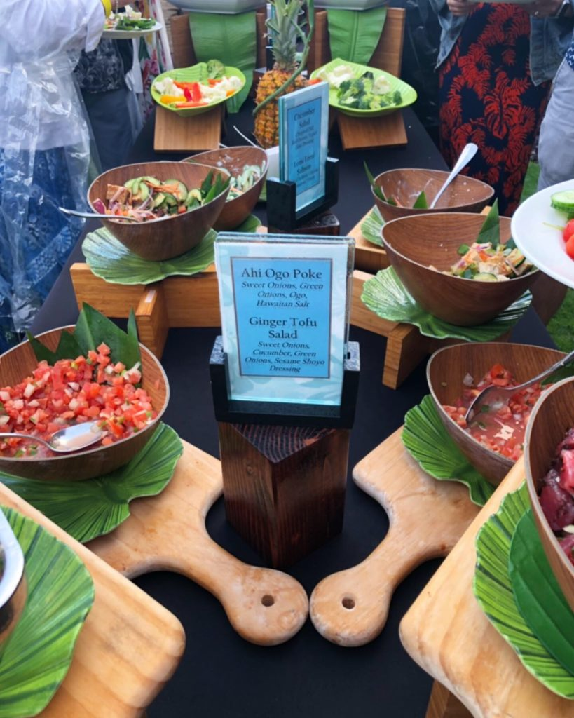 Great Food Selection at Aulii Luau