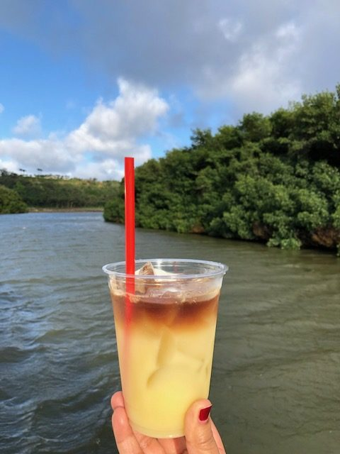 Island Drink on Kauai Beach Boys Cruise