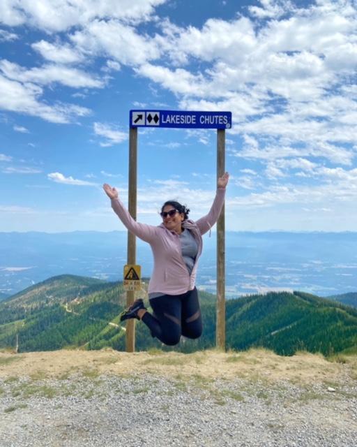 Top Of Schweitzer Mountain
