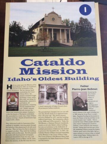 Cataldo Mission Idaho