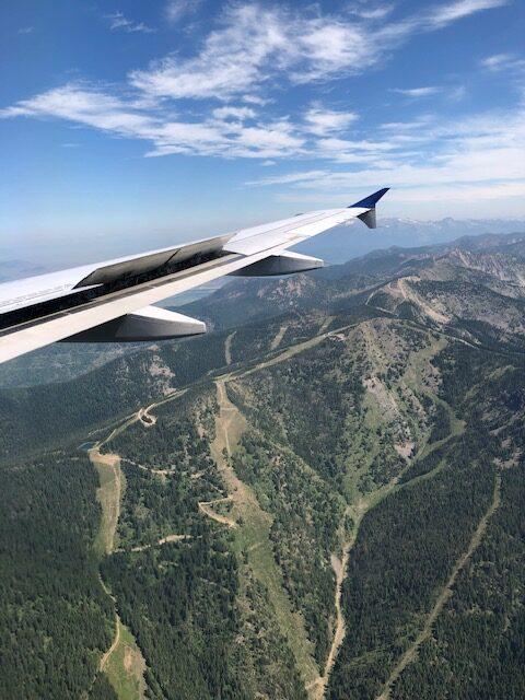 Flight In To Missoula, MT