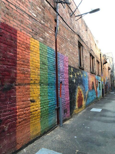 Mural Art Alley Sandpoint