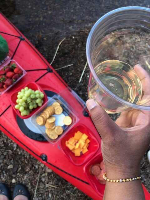Snacks And Champagne On The Sunset Tour
