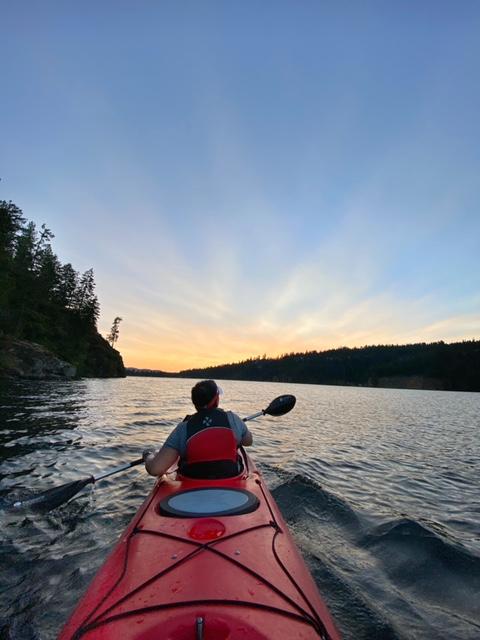 Best Sunset Kayak Trip Ever! Photo Credit: Mandy Bruggeman