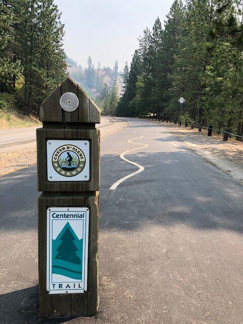 Centennial Trail Couer d'Alene, Idaho