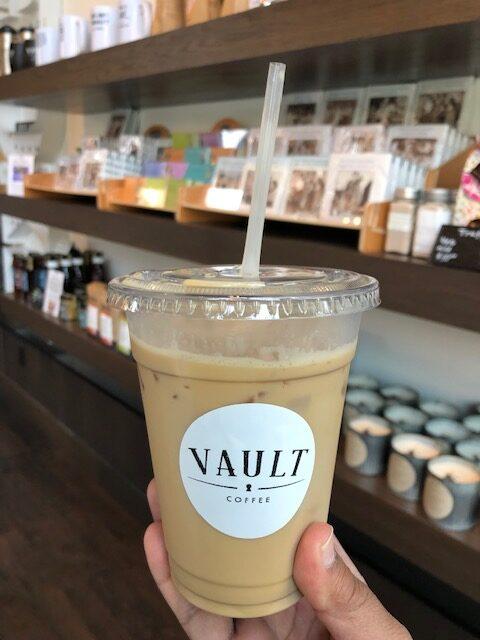 Iced Coffee at Vault Coffee CDA