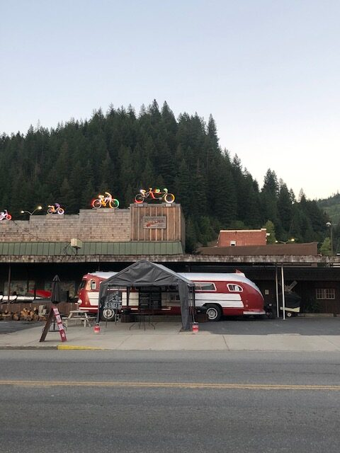 Downtown Wallace, Idaho